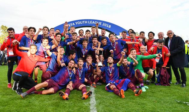 Барселона разгромила Челси и выиграла Юношескую лигу УЕФА