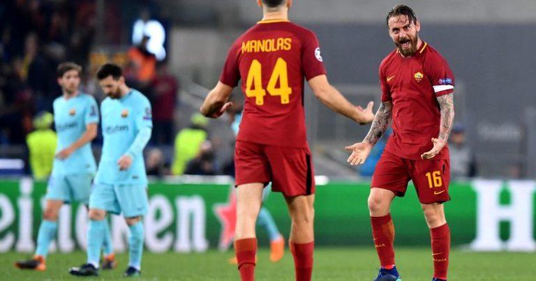 П.С.: почему же «Барселона» проиграла «Роме» в ЛЧ?