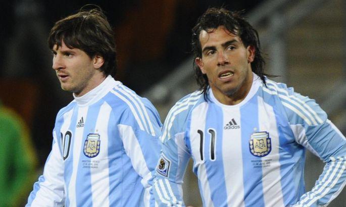 """Тевес: """"Аргентина нуждается в Месси, и так будет все время"""""""