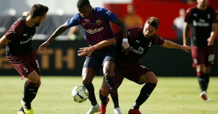 «Милан» – «Барселона» – 1:0