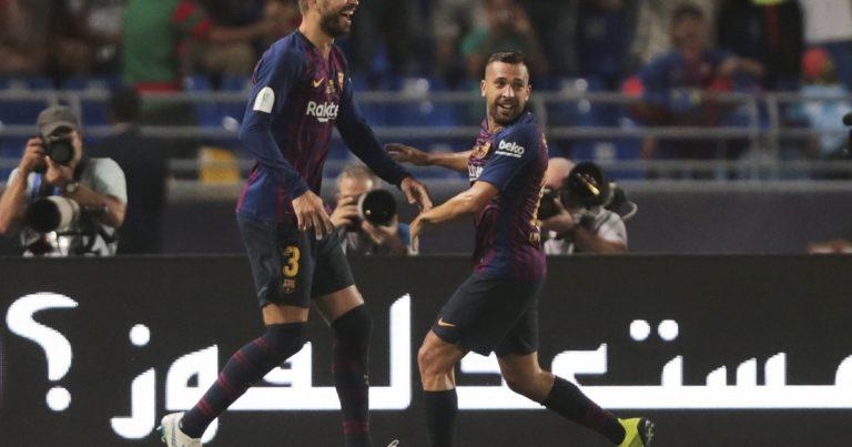 «Севилья» – «Барселона» – 1:2. Первый трофей сезона!