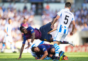 «Реал Сосьедад» – «Барселона» – 1:2. На жилах