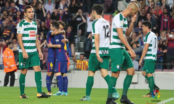 Барселона — Эйбар. Анонс и прогноз матча